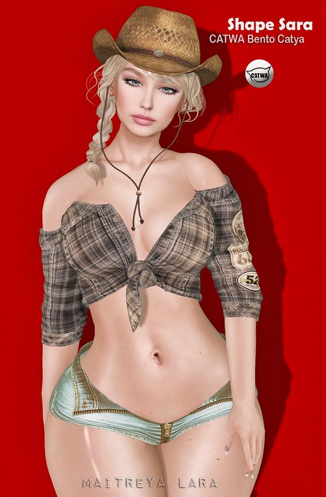 Malibu Shapes ::: Sara – CATWA Bento Catya