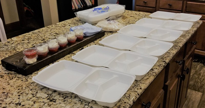To-go boxes make life easy!