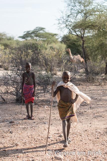 Merille boy herders