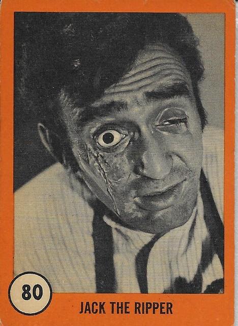 Horror Monsters Series ( Nu-Card 1961 )