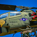 US Army Apache Helicopter at Brevard County Veterans Memorial Park and Military Museum Merritt Islan
