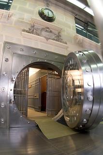 Bóveda del Banco Central de Chile