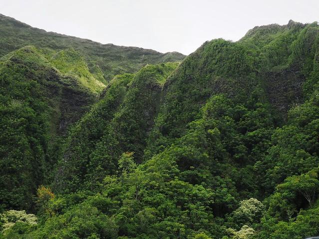 Koola'u Mountain Range Hawaii