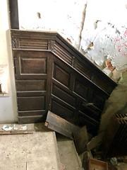 Porte-cochère Stairway, Edgewood (A. E. Burckhardt House), Avondale, Cincinnati, OH