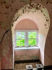 Stairway, Edgewood (A. E. Burckhardt House), Avondale, Cincinnati, OH
