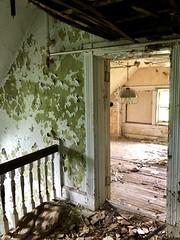 Servant's Stairway, Edgewood (A. E. Burckhardt House), Avondale, Cincinnati, OH