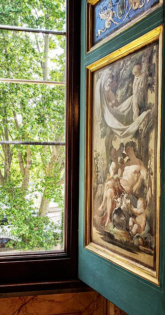 At the Villa Farnesina in Rome