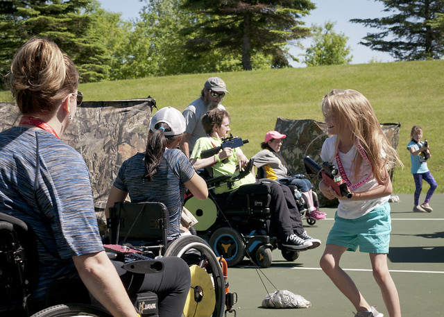 National Wheelchair Sports Camp