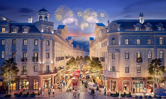 Shophouse Europe - thiên đường mua sắm đậm chất châu Âu