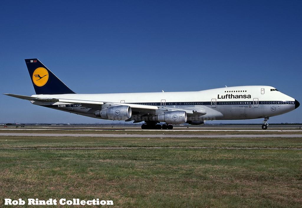 Lufthansa B747-230BM D-ABYR