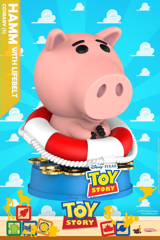坐在太空船上揮手的三眼怪也太萌!! Hot Toys – COSB609 - COSB616 –《玩具總動員》Toy Story Cosbaby (S)