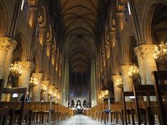 Notre-Dame de Paris (March 2019, before the fire)
