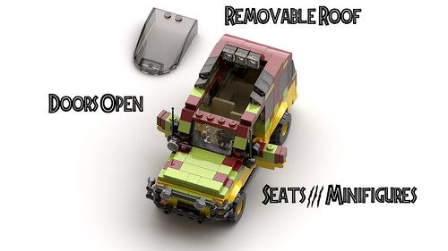 Jurassic Park Tour Vehicle Instructions!