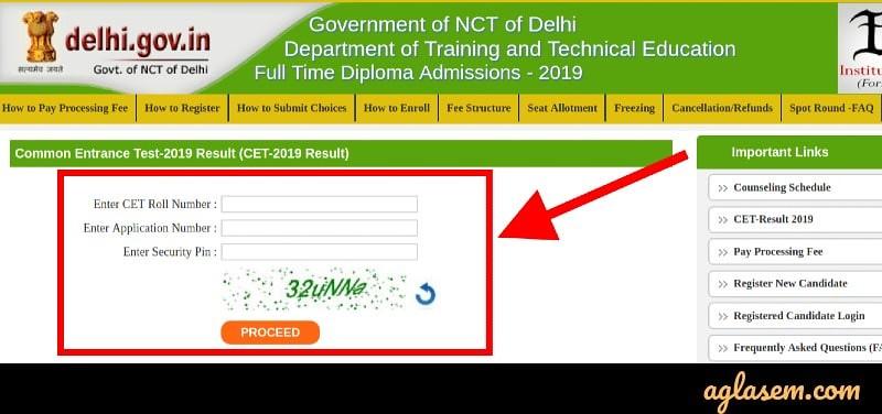 Delhi CET Result 2020 - Check Delhi Polytechnic Result Here (cetdelhi.nic.in)