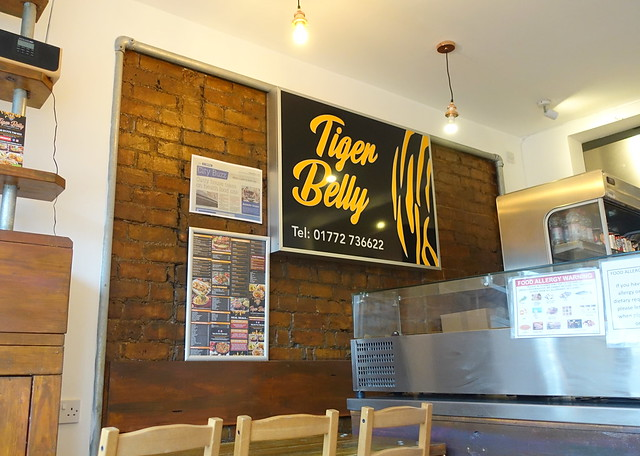 Inside Tiger Belly at Preston