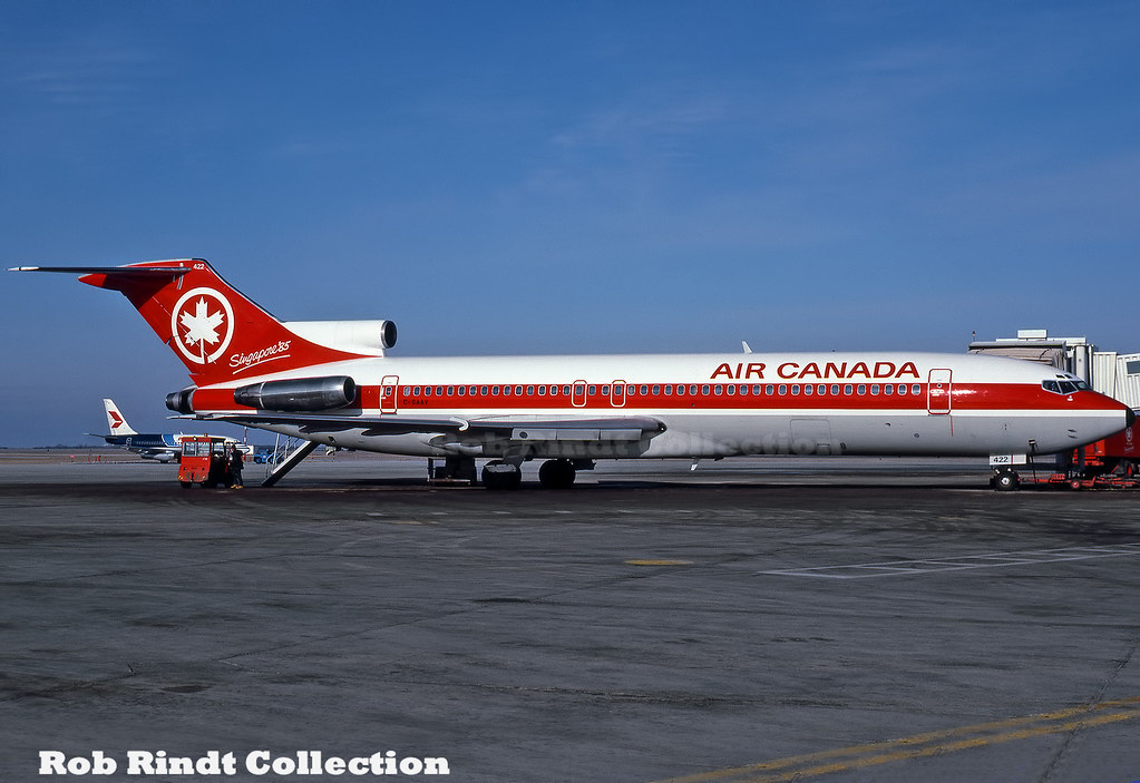 Air Canada B727-233/Advanced C-GAAV