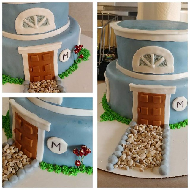 House Warming Cake by Cannon's Cake Corner