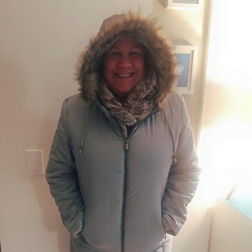 new parka warm fuzzy