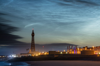 Noctilucent Clouds over Blackpool