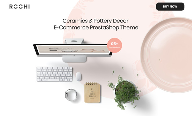 Beautiful & Elegant Ceramics AND Pottery Decor PrestaShop Theme