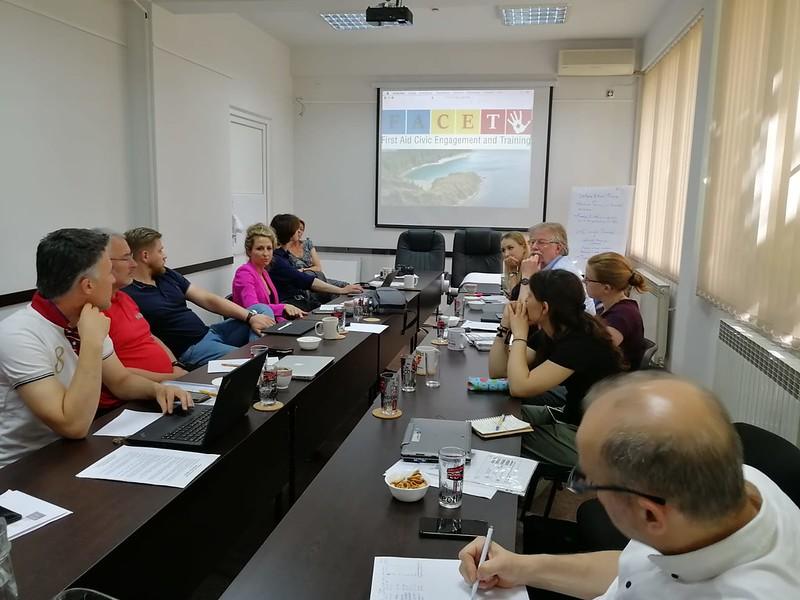 Progettazione europea: in Macedonia con il progetto FACET, EMPACT