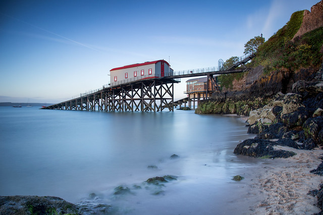 Lifeboat Station in Tenby, South Wales, UK 2019