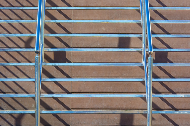 Stairway and shadows