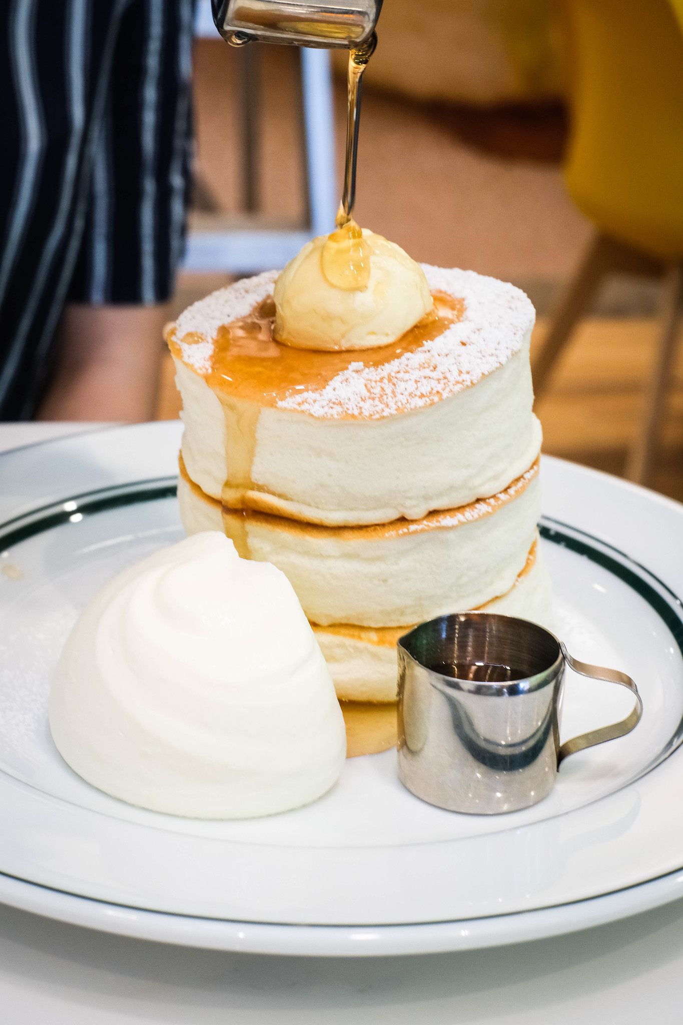 Stack of Souffle Pancakes from Gram Cafe