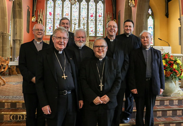 Retirement Presentation to Bishop Séamus