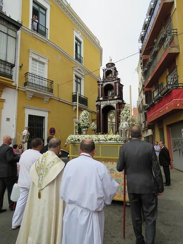 PROCESIÓN DEL CORPUS DE SAN ILDEFONSO - SEVILLA
