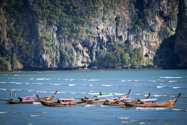Boats of Krabi [Explored]