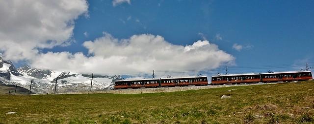 Schweiz, Rund um Zermatt, Matterhorn,  Gornergratbahn, 76741/11622