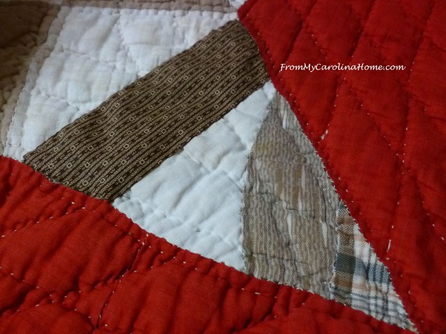Quilt Repair by Hand at FromMyCarolinaHome.com