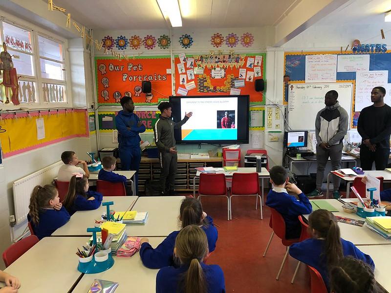 Visit to Middle Park Junior School (1)