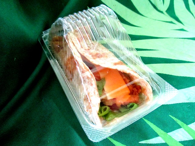 Chapati chicken wrap 2