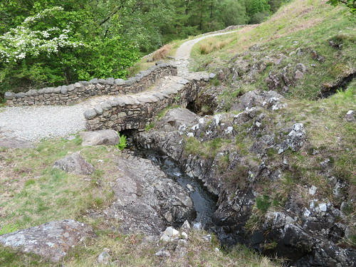 16 - Old footbridge over Hollow Gill and Groove Gill | by samashworth2