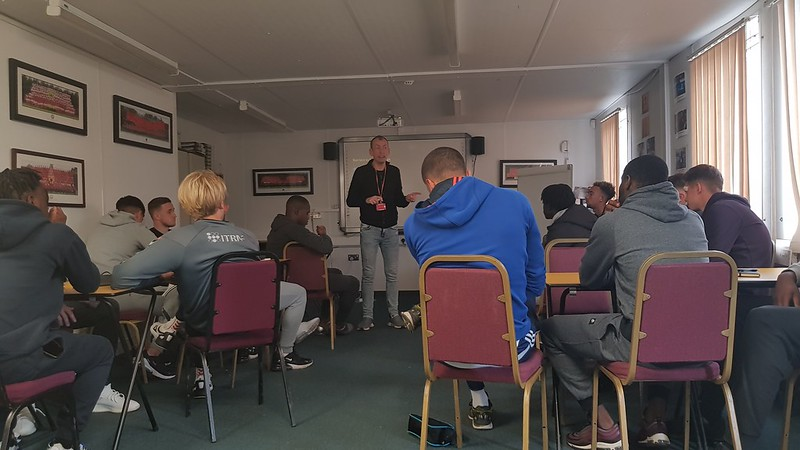 Player Care session with Gareth Morgan (1)