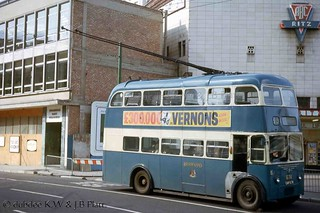 September 1964 AEC 661T CAK674 on Leeds Road.