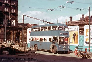 August 1964 Sunbeam F4 FWX913 in Forster Square.