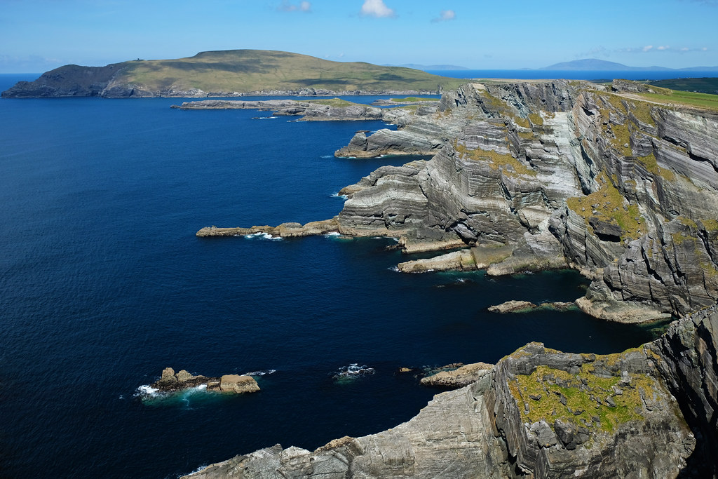 Scenic drives in Ireland: Kerry's Cliffs, Ring of Kerry, Ireland