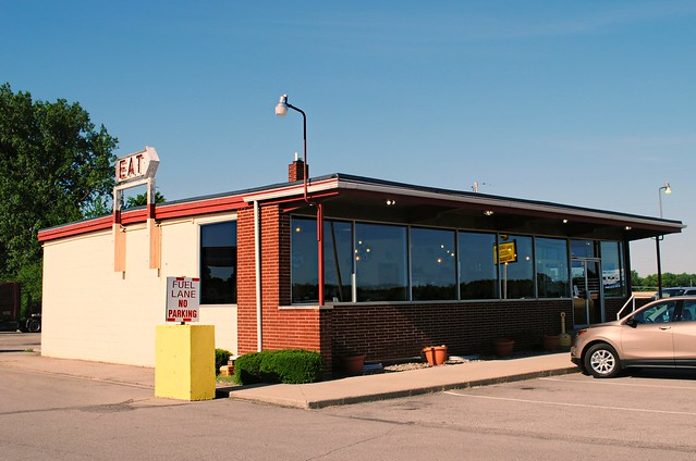 20th Century Restaurant, U.S. Route 6 - Milford, Indiana