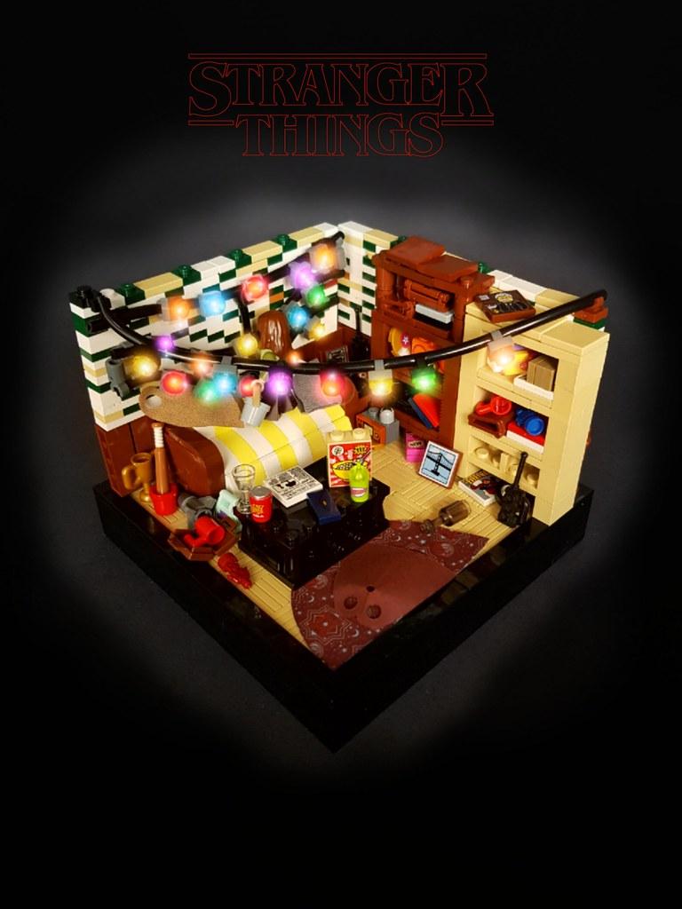 Stranger Things Season 1 – Will, Talk to me! (custom built Lego model)