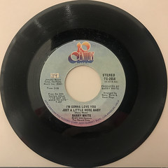 BARRY WHITE:I'M GONNA LOVE YOU JUST A LITTLE MORE BABY(RECORD SIDE-A)