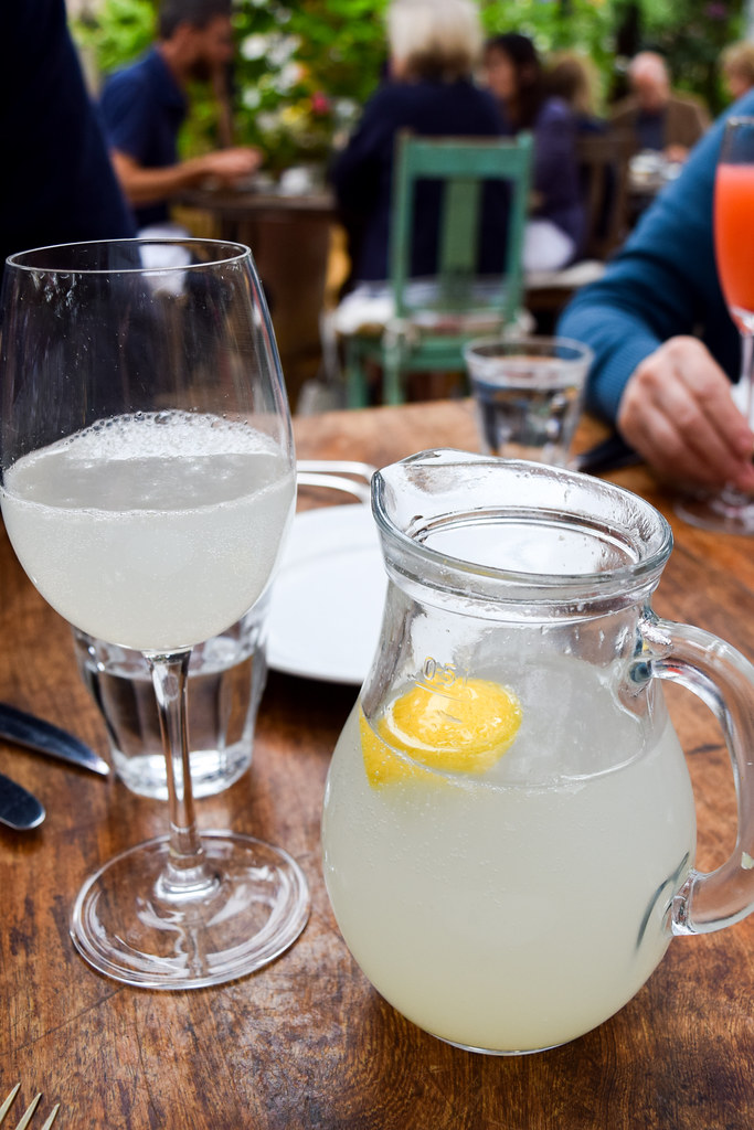 Homemade Lemonade at Petersham Nurseries, Richmond