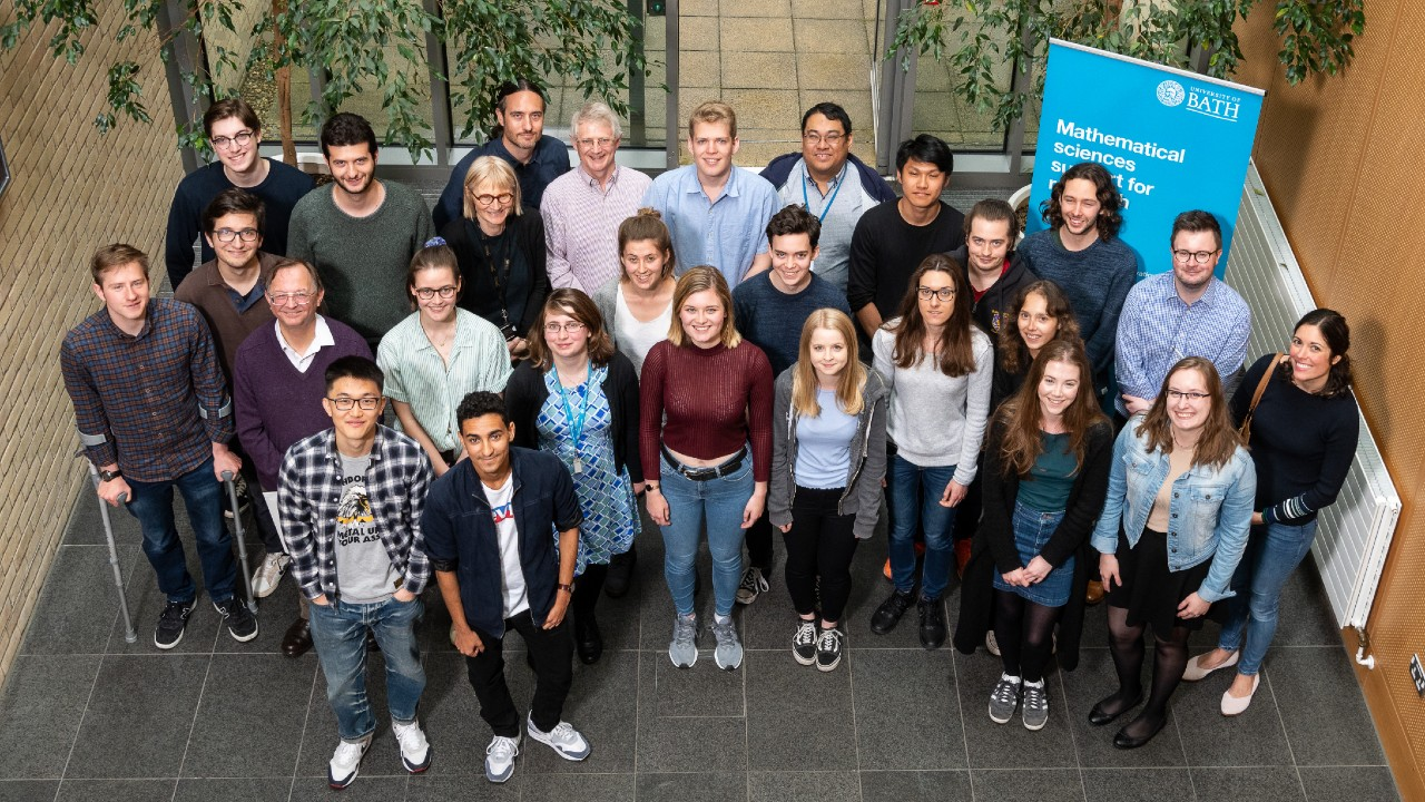 Students and supervisors taking part in IMI's Undergraduate Research Internship Programme.