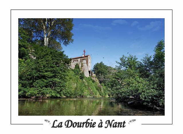 Gorge de la Doubie à Nant en Aveyron.