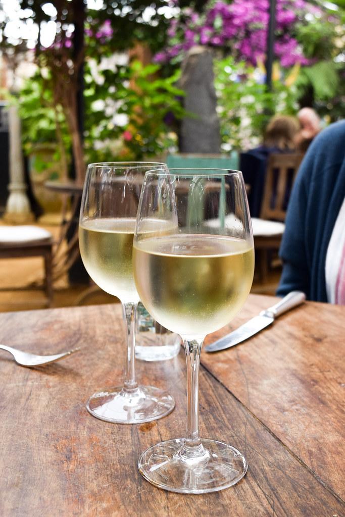 House White Wine at Petersham Nurseries, Richmond