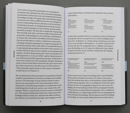 Spread from Typography: A Very Short Introduction