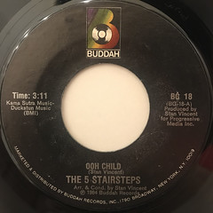 THE 5 STAIRSTEPS:OOH CHILD(LABEL SIDE-A)