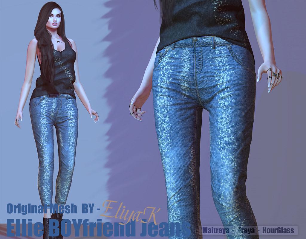 Eliya.K – Ellie Boyfriend jeans